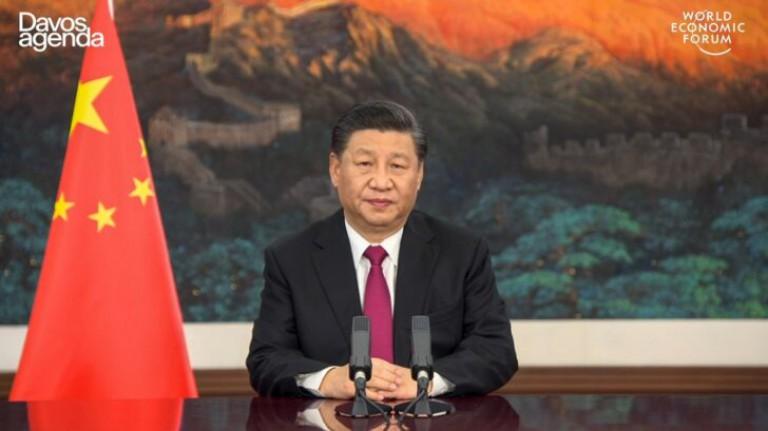 SWITZERLAND-CHINA-WEF-ECONOMY-POLITICS-DIPLOMACY