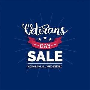 Veterans Day Sale 2020